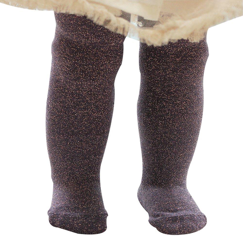 Taiycyxgan Infant Baby Girls Cotton Tights Stocking Gold Kids Leggings Pants