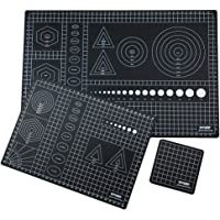 """OWDEN 3Pcs. self Healing Double Sided Cutting mat Set, The Set of 3 Sizes: A3(11.8""""x17.7"""" + A4(8.7""""x11.8"""") + 4""""x4"""" for…"""