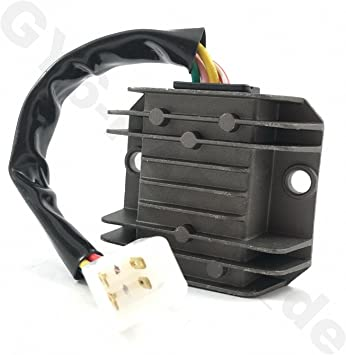 CDI WIRE CABLE HARNESS PLUG CONNECTOR FOR 6 PIN CDI BOX GY6 CHINESE SCOOTER MOPED ATV TAOTAO VIP ROKETA JONWAY SUNL TANK VIP BAJA SUNL PEACE ZNEN BENZHOU JMSTAR BMS AND MANY MORE