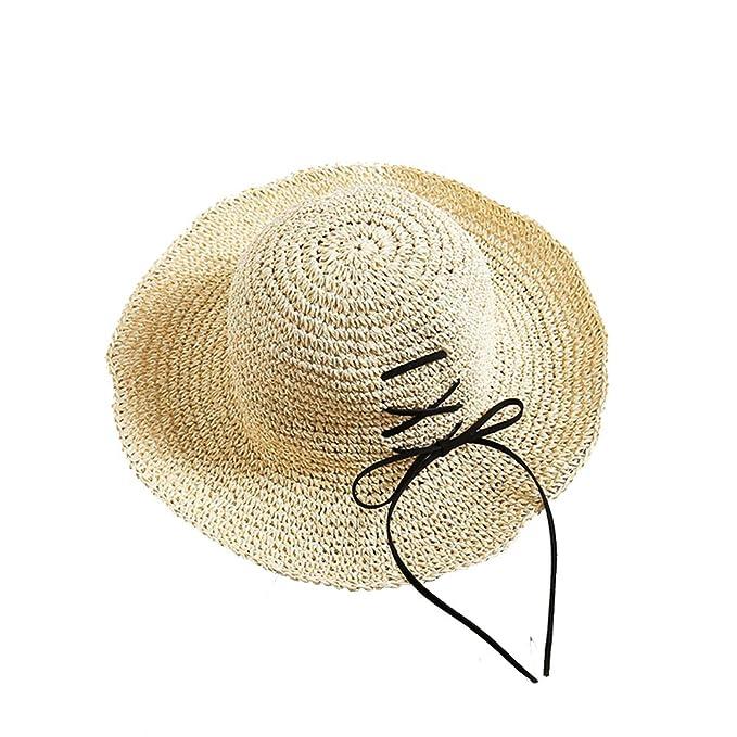 Gysad Sombrero Mujer Diseño de Corbata Sombrero Mujer Verano ...