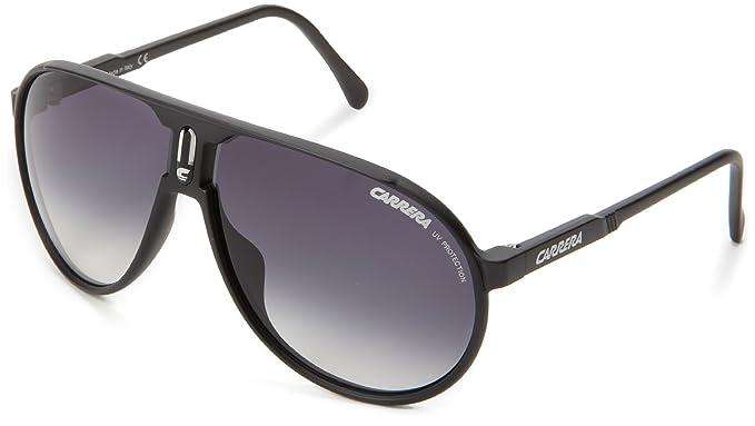 2a6da56040 Carrera Champion/L/S Aviator Sunglasses,Matte Black Frame/Grey Gradient  Lens,One Size: Amazon.in: Clothing & Accessories