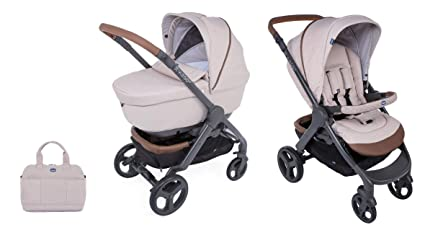 CHICCO 00079223140000 Duo Styl EGO Up Crossover (Sport carro + capazo), color beige