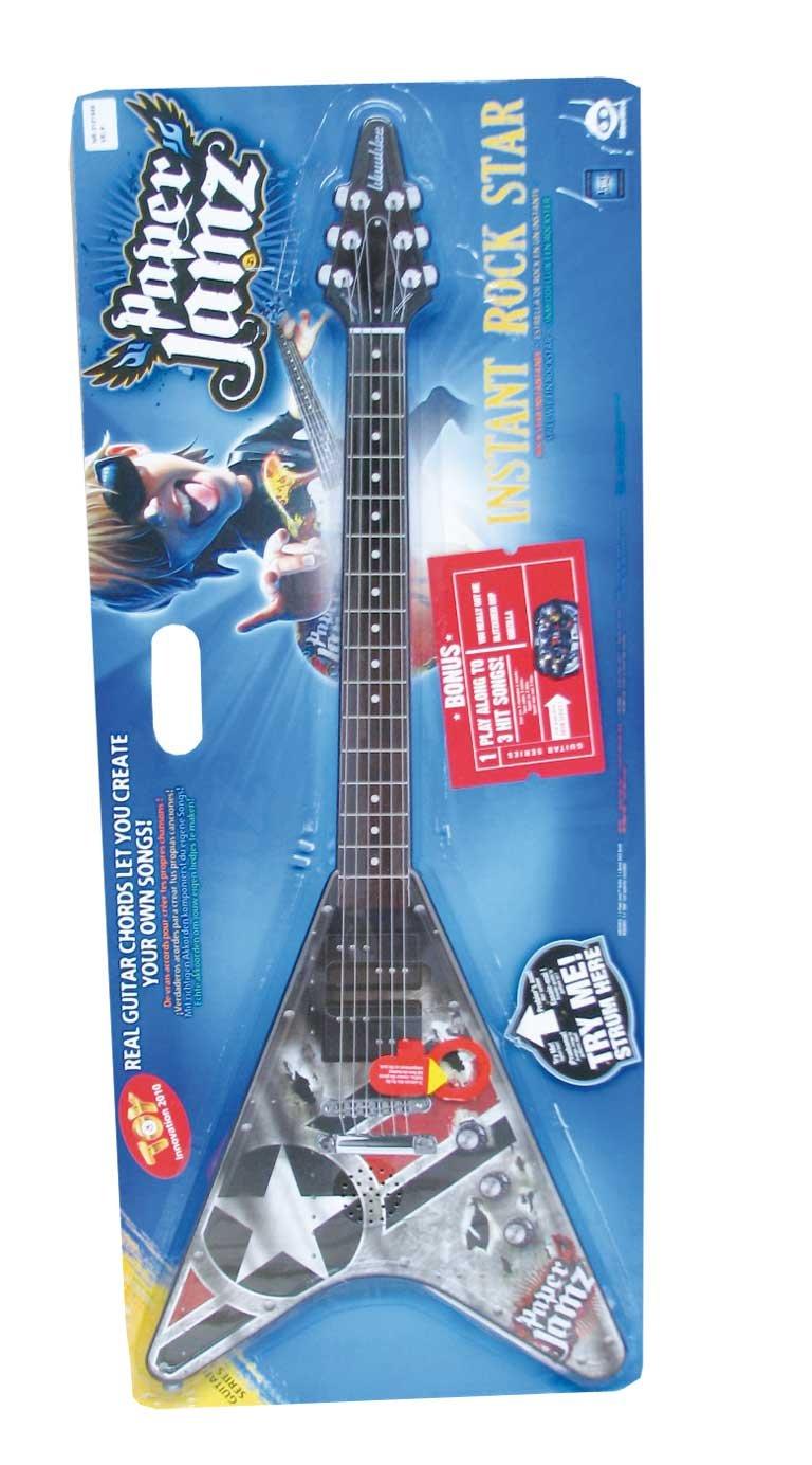 Paper Jamz Guitarra con altavoz (Giochi Preziosi 6200): Amazon.es: Juguetes y juegos