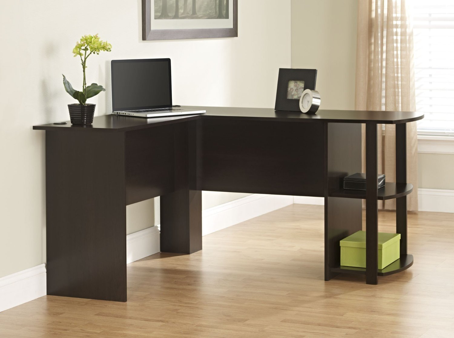 Altra Dakota L-Shaped Desk wit...