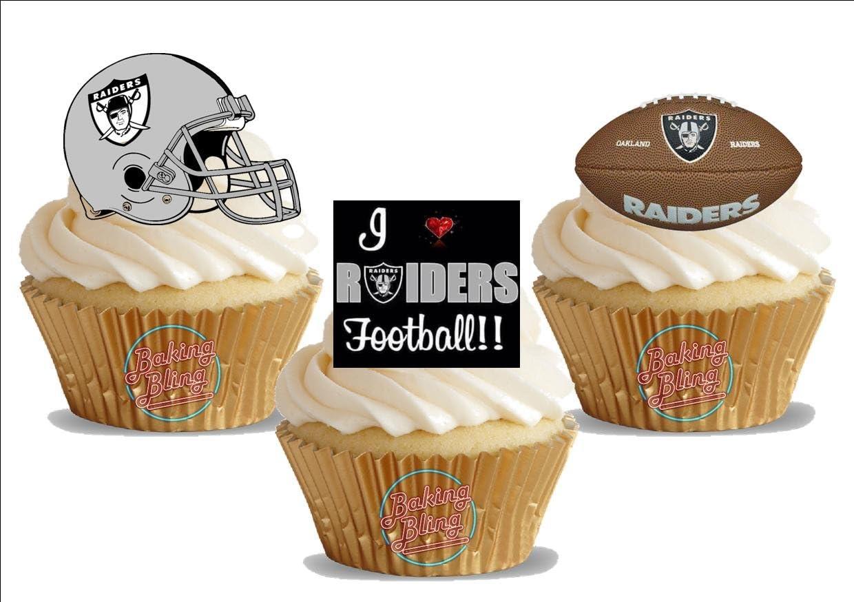 Surprising Amazon Com American Football Oakland Raiders Trio Mix Fun Funny Birthday Cards Online Inifofree Goldxyz