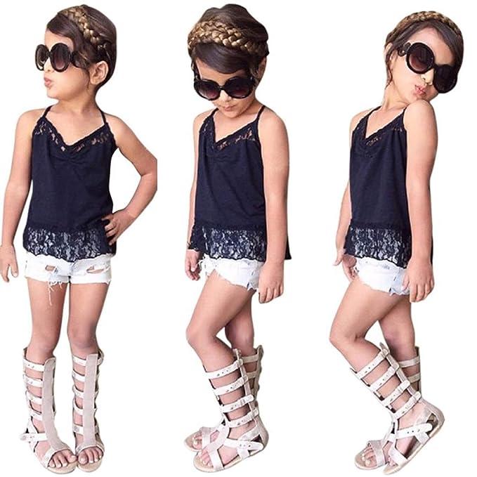 Amazon.com: Conjunto de ropa infantil para niños y niñas ...
