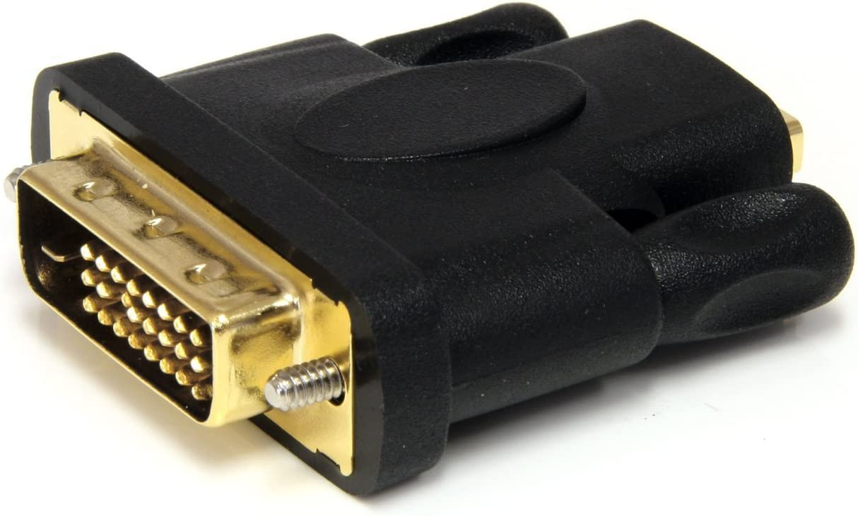 Black HDMI DVI FM HDMI to DVI-D Video Cable Adapter TM YellowKnife F//M