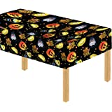 Davies 11789 Halloween Party Pumpkin Witch Kids Table Cover / Tablecloth - Wipe Clean
