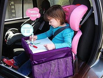 c14f09c64b4c MuStone Bandeja de viaje para niños Snack para niños, Bandeja de viaje a  prueba de