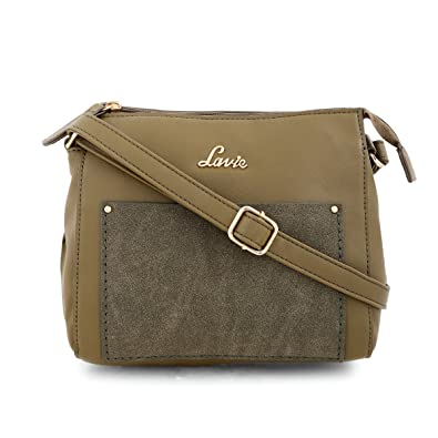 ce9f41807 Lavie Onora Women s Sling Bag (Olive)  Amazon.in  Shoes   Handbags