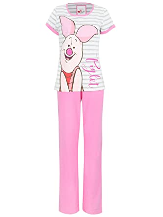 8ddb44f9a4c5 Disney Winnie The Pooh Womens Piglet Pyjamas Small  Amazon.co.uk  Clothing
