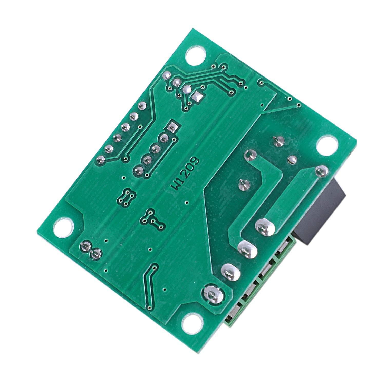 50-110 Centigrados Interruptor de M/óDulo de Electr/óNico con Rel/é de un Canal 10A e Impermeable SODIAL 2Pcs 12V DC Tablero Controlador de Temperatura Digital Termostato Micro-Digital