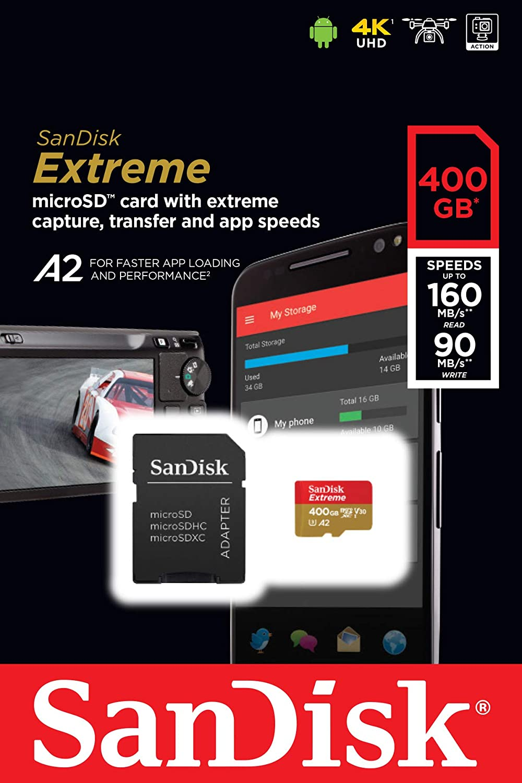 Amazon.com: SanDisk Extreme microSDXC UHS-I - Tarjeta de ...