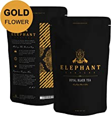 Special Golden OP Black Tea Leaves (50 Cups) FLOWERY & DELICIOUS - Brew Iced Tea or Hot Tea, Mountain Grown Aromatic Black Tea, NATURAL SOURCE OF ANTI-OXIDANTS & POLYPHENOLS, 3.5 ounce Bag