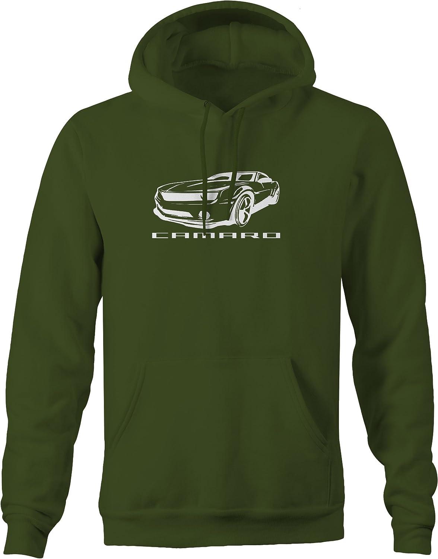Lifestyle Graphix Camaro Silhouette Racing Hot Rod Z28 SS RS LT1 Sweatshirt