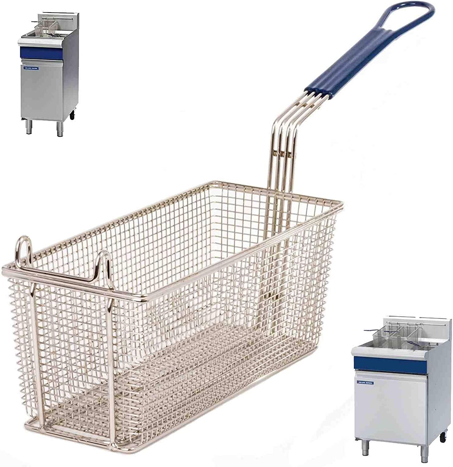 Fryer Basket  Spare for PITCO Fryers electric /& gas FRIALATOR 45C 35C SG18 SG14