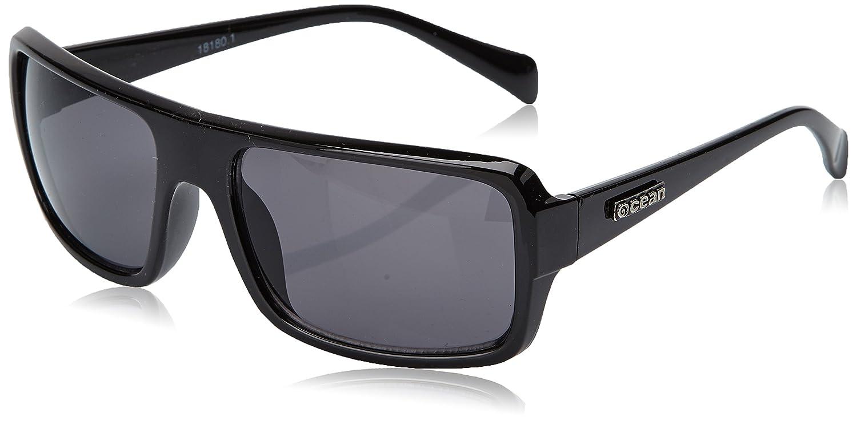 Ocean Sunglasses Recfort - Gafas de Sol polarizadas - Montura : Negro Brillante - Lentes : Ahumadas (18180.1): Amazon.es: Deportes y aire libre