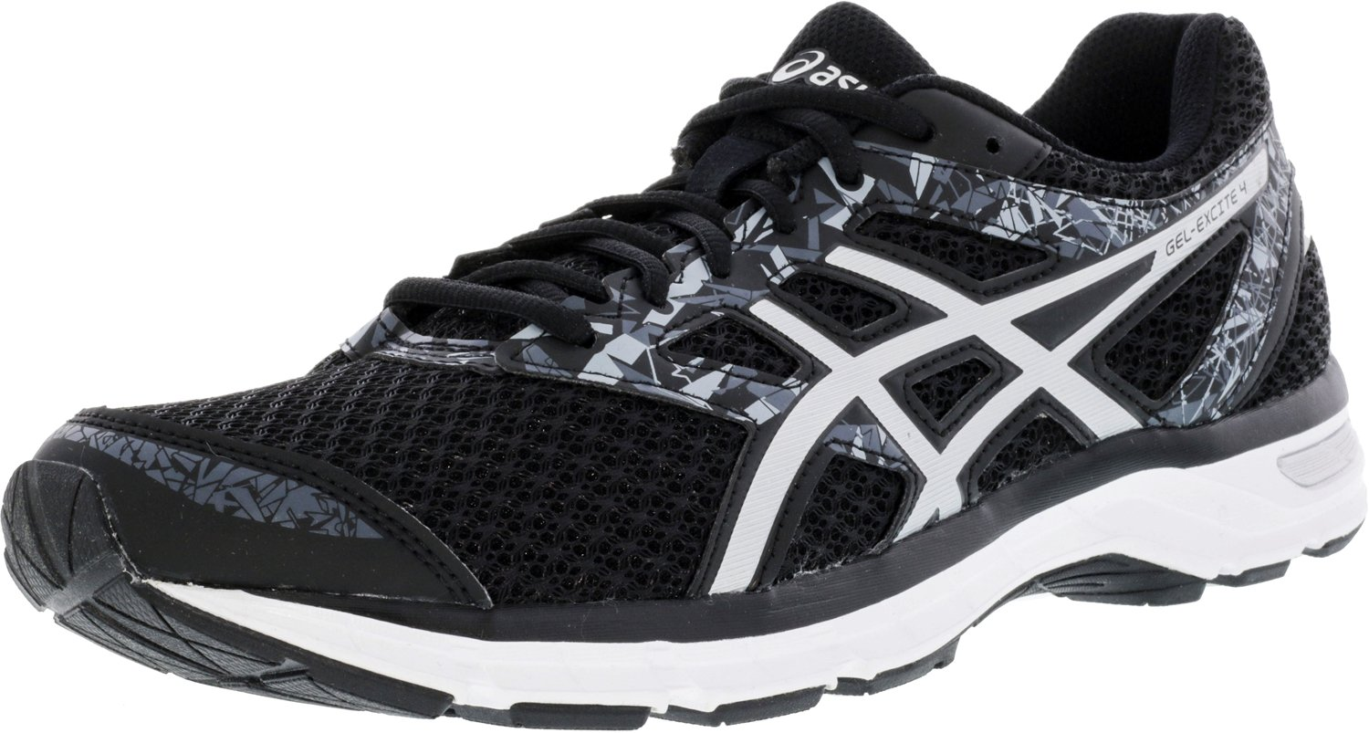 ASICS Women's Gel-Excite 4 Running Shoe B078TPCVF5 8 B(M) US|Black/Onyx/Silver