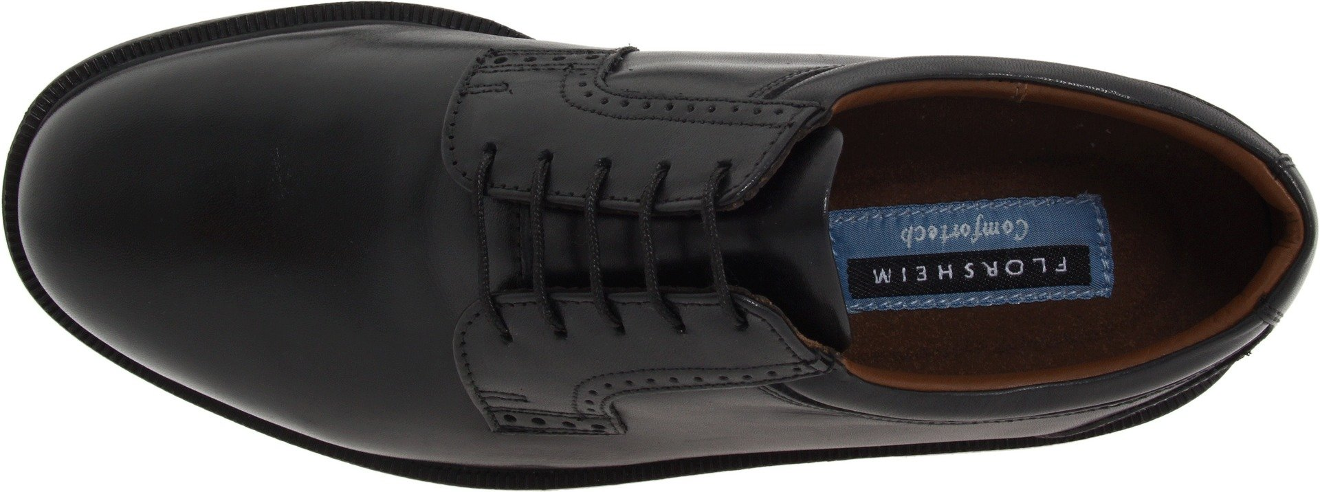 Florsheim Men's Noble Oxford,Black,9 M