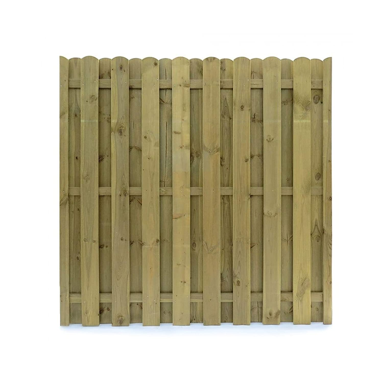 Amazon Sichtschutzzaun Holz 180x180 Dichtzaun Sichtschutz