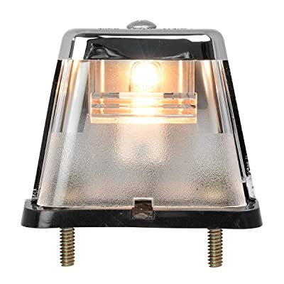 GG Grand General 80570 Light (Clear Square Stud-Mount License Plate): Automotive
