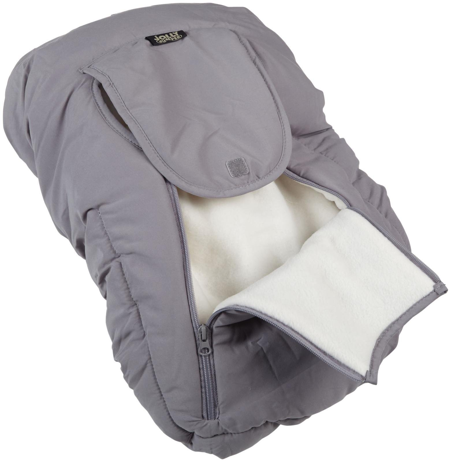 Jolly Jumper Arctic Sneak A Peek Car Seat Cover With Attached Blanket