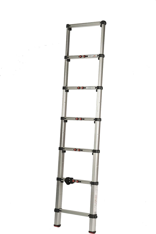 Coamer TL-07 Escalera telescópica, 7 peldaños: Amazon.es: Bricolaje y herramientas