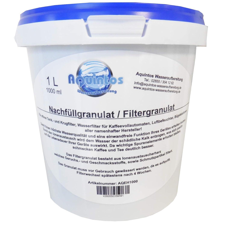 Aktivkohle aus Kokosnussschale GESILBERT 2,5 Liter Wasseraufbereitung Chlor