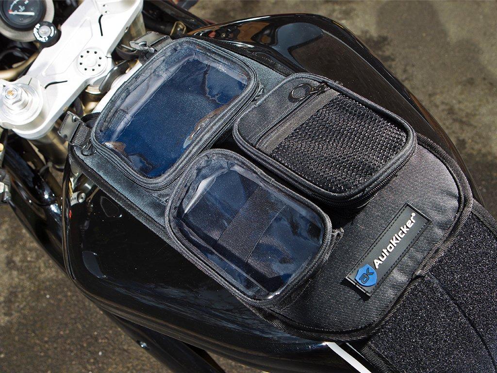 Bolsa Autokicker dos. Porta teléfono y GPS para bicicletas y motocicletas: Amazon.es: Coche y moto