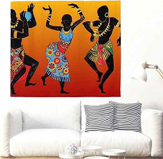 Multicolores Tammes Africains Peinture Murale Afro Beat ...