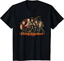 625712325 Kids DreamWorks  Dragons  Viking Approved T-Shirt