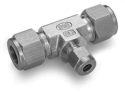 Calavera Acero Inoxidable 316 LET-LOK conector de compresión ...