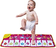 zoordo Musical Mat,Kingseye Baby Early Education Music Piano Keyboard Carpet Animal Blanket Touch Play Safety Learn Singing