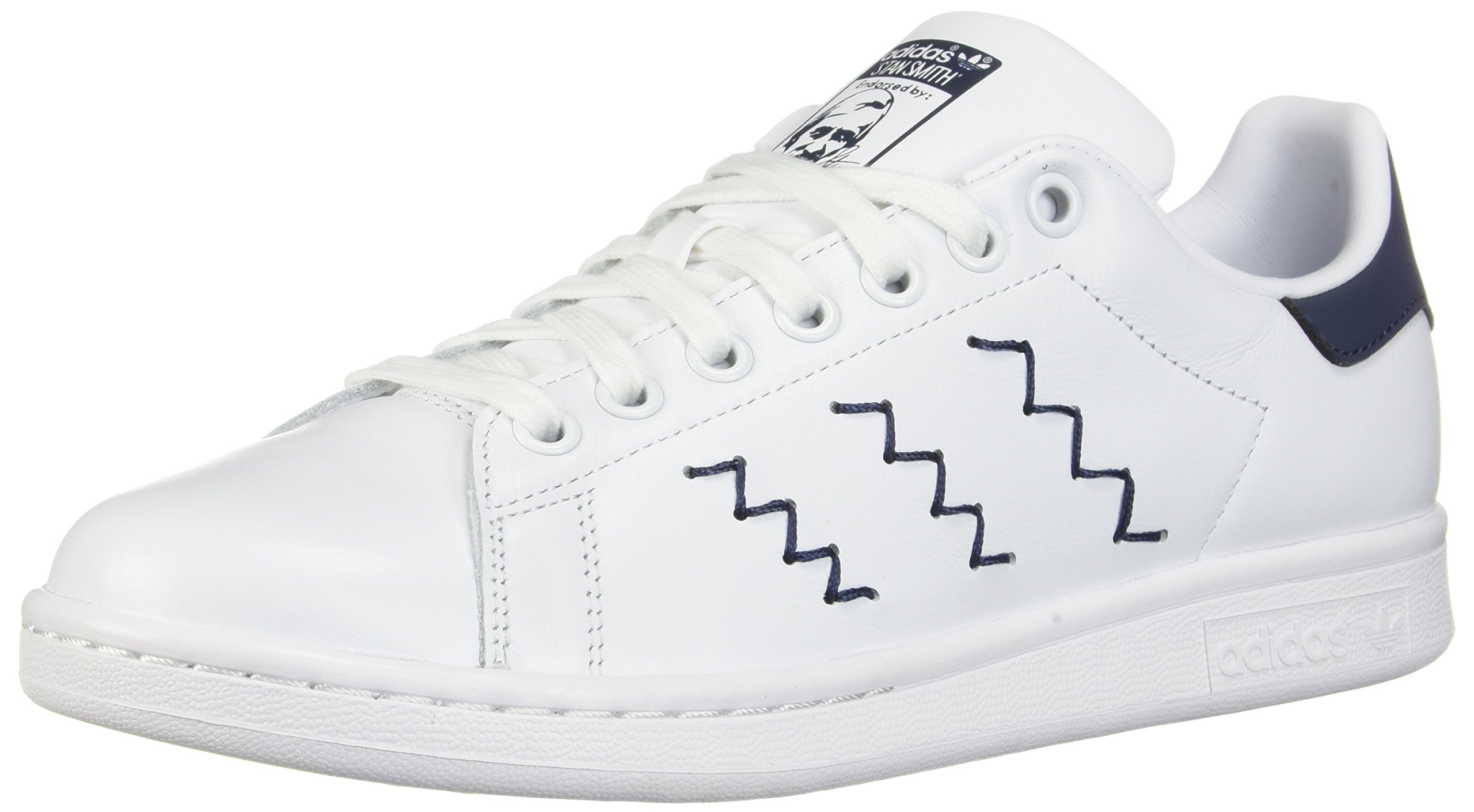 new style 6082a 4fff6 adidas Originals Women's Stan Smith W Fashion Sneaker Running Shoe,  White/Trace Blue, 5 Medium US