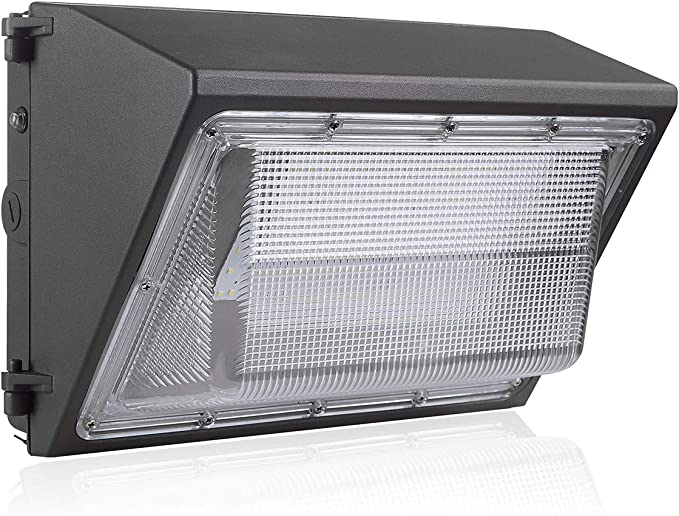 120W LED Wall Pack Light Outdoor Photocell Dusk to Dawn Commercial Industrial