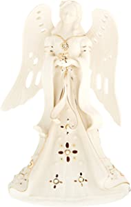 Lenox Florentine & Pearl Angel Lit Figurine