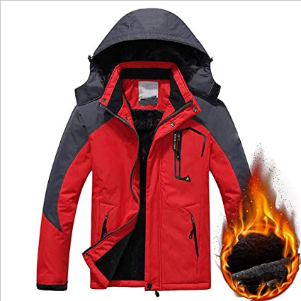 84c6889d7c7 Amazon.com  LNYF-OV Winter New Outdoor Three-in-one Jacket Men and Women  Couple Models Mountaineering Clothes Men Riding Windbreaker  Sports    Outdoors