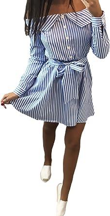 Blusa Kleid Mujer Cortos Casual Es Fashion Flecos Mini ...
