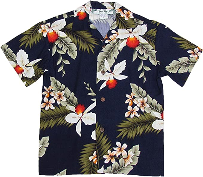 Two Palms Boy/'s Ceres Rayon Shirt