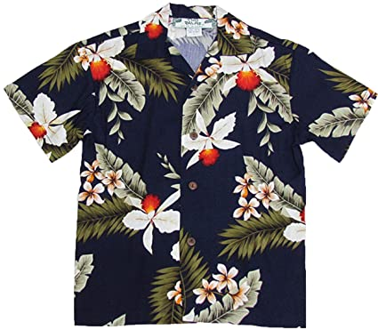 03e33df462 Two Palms Boy's Hawaiian Orchid Rayon Shirt