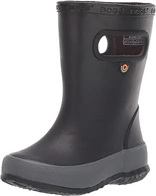 BOGS Kids' Skipper Solid Waterproof Rain Boot