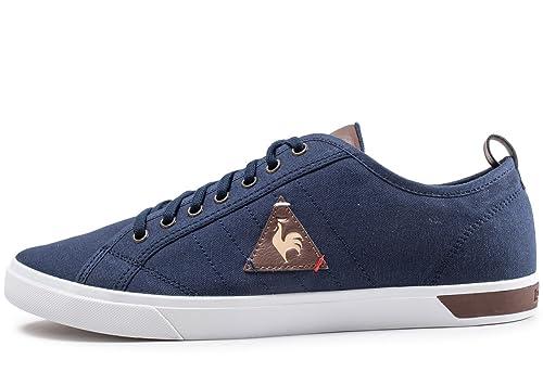 Le Coq Sportif Ares Cvs/Lea s Blue 1810250: Amazon.es: Zapatos y complementos