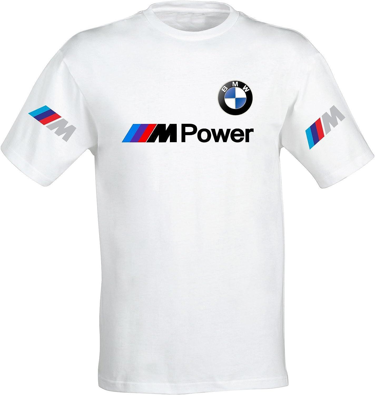 Camiseta Camisa T-Shirt tee Deportiva Hombre BMW MPower Motorrad Team Italia Motorsport Tuning Coche Moto Auto TSB.15: Amazon.es: Ropa y accesorios