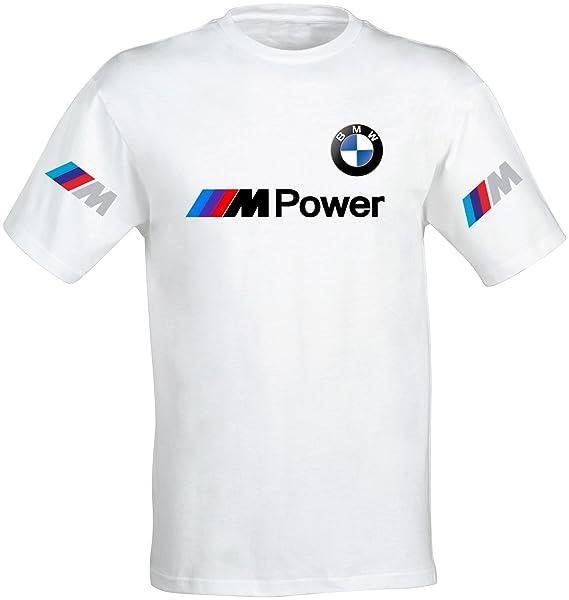 Moto Sport Sportswear M-Power E30 E36 E46 E38 E39 E60 BMW Rule Out T-Shirt da Uomo Motowear Casual
