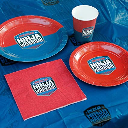 Amazon.com: American Ninja Warrior Party Supplies Pack para ...