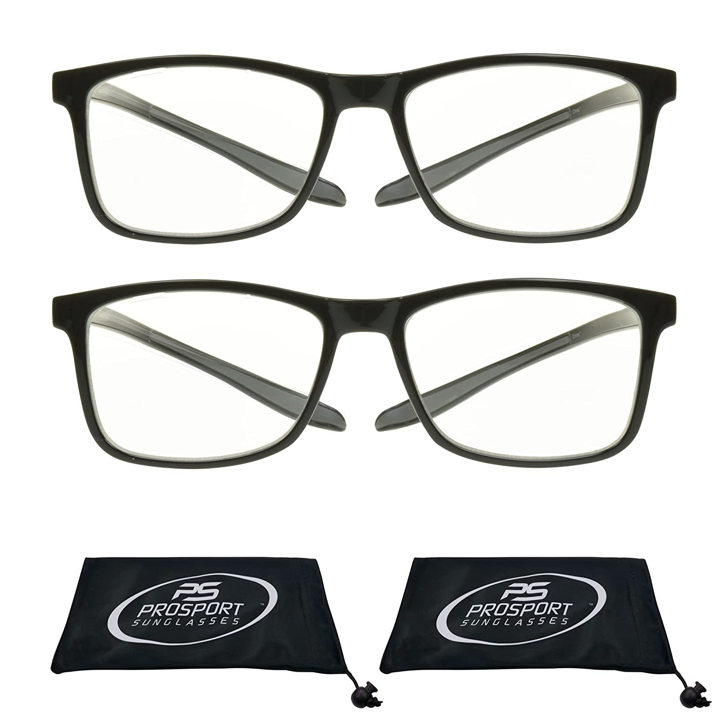 83b4be1ddaa Amazon.com  Multifocal Progressive 3 Magnifications in 1 Lens No Line  Computer Gaming Reading Glasses for Men   Women  Health   Personal Care