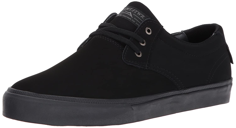 Lakai Daly Skate Shoe B01MR5NJHO 8.5 M US|Black/Black Nubuck