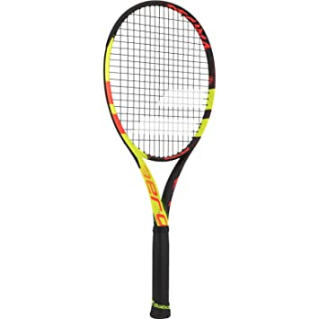 Babolat Pure Aero Decima Lite Limited Edition - Raqueta de tenis para adulto, color negro