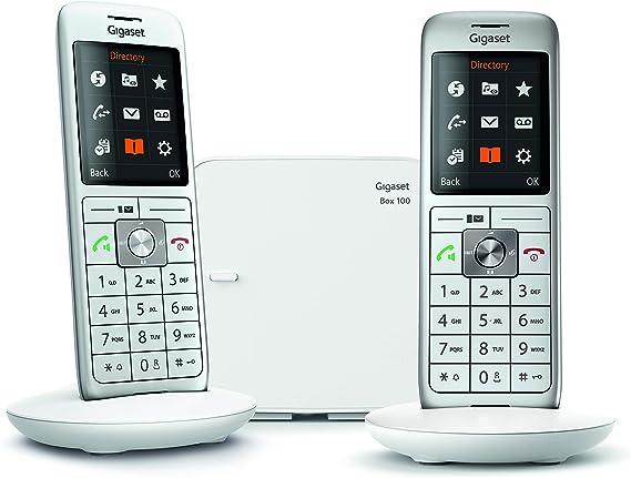 Gigaset CL660 Analog/DECT Telephone Gris Identificador de Llamadas: Amazon.es: Electrónica