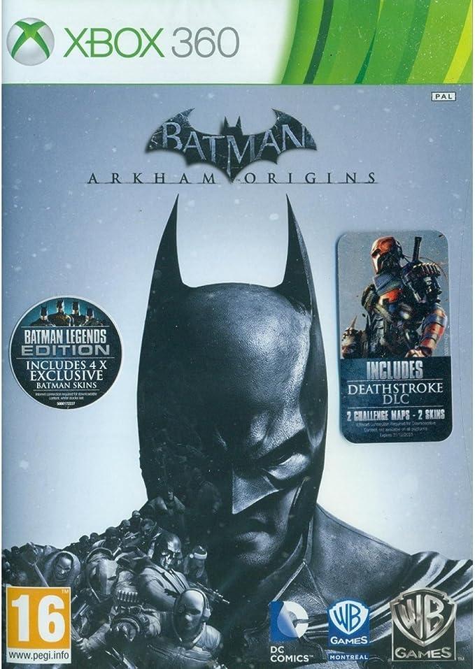 Batman: Arkham Origins - Heroes and Villains (Xbox 360) [Importación Inglesa]: Amazon.es: Videojuegos